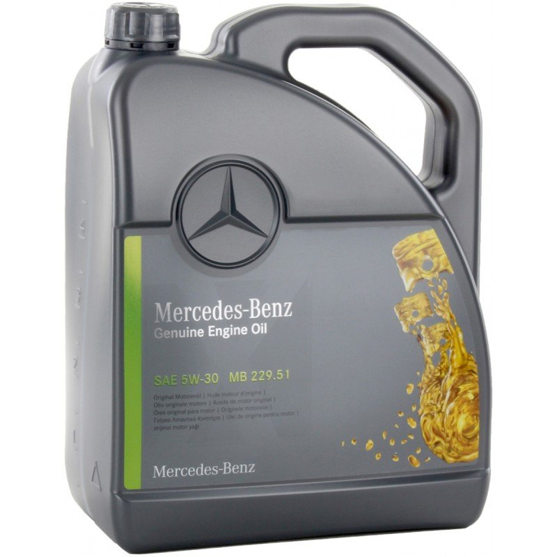Mercedes Engine Oil 5W30  229.52 5L